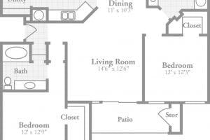 Bán căn hộ Thủ Thiêm River Park 2 phòng ngủ