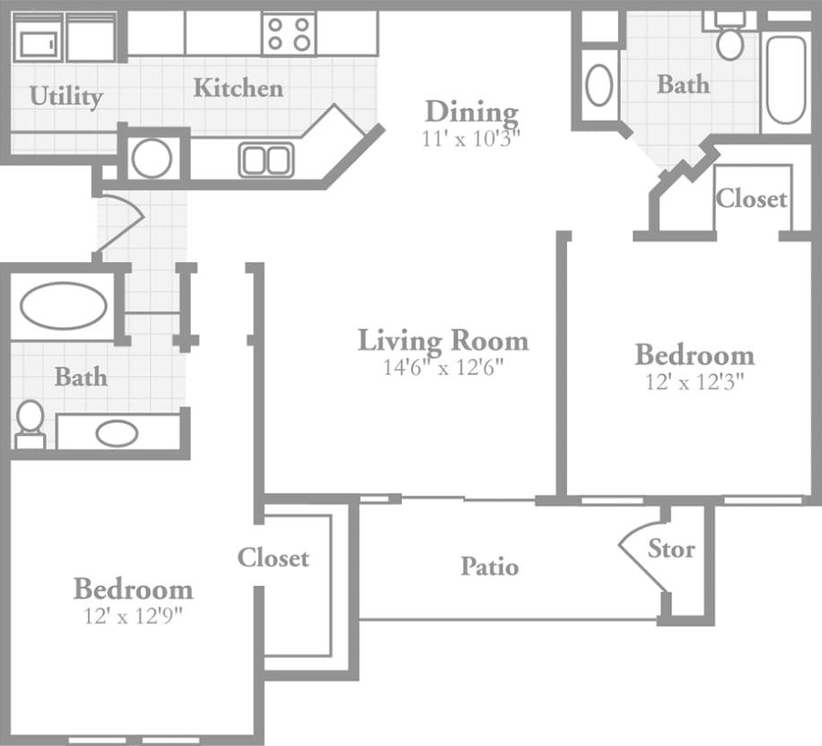 Bán căn hộ Thủ Thiêm River Park 2 phòng ngủ giá gốc chủ đầu tư