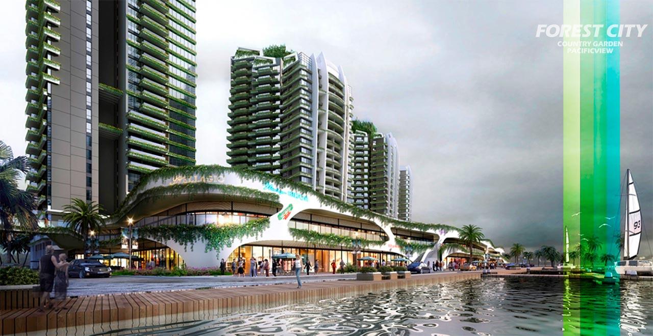Căn hộ Forest City Malaysia bán và cho thuê giá gốc chủ đầu tư