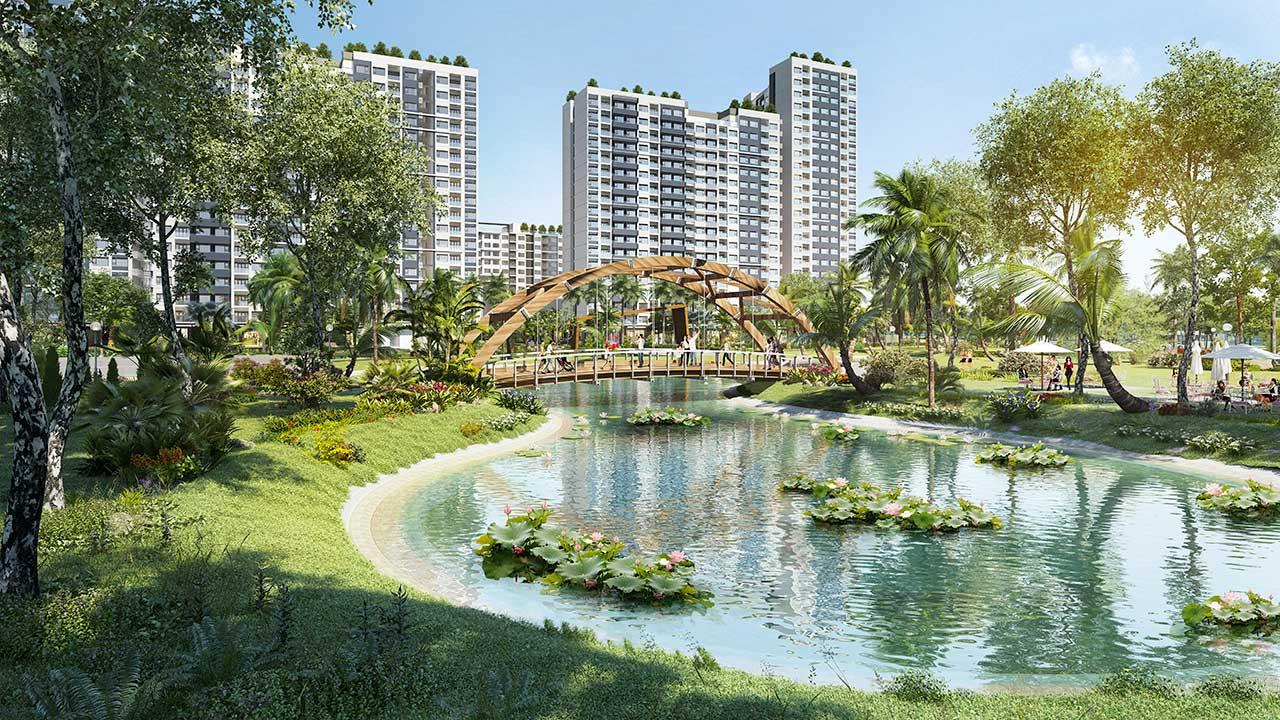 Công viên trung tâm dự án New City Thủ Thiêm