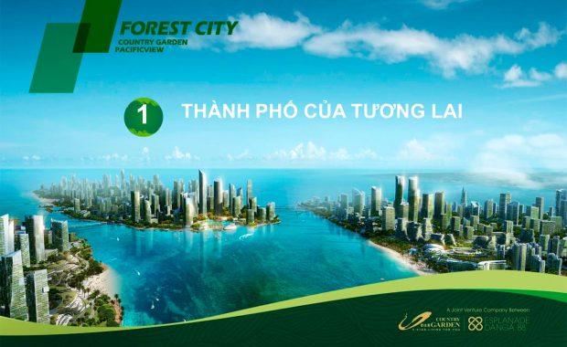 Dự án Forest City Malaysia