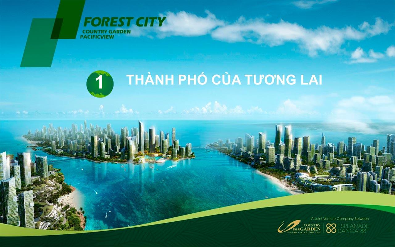 Thông tin chi tiết về Forest City Malaysia