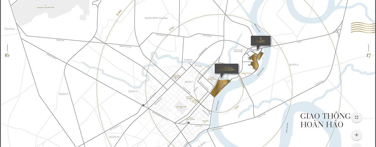Căn hộ Vinhomes Golden River nằm ở đâu?