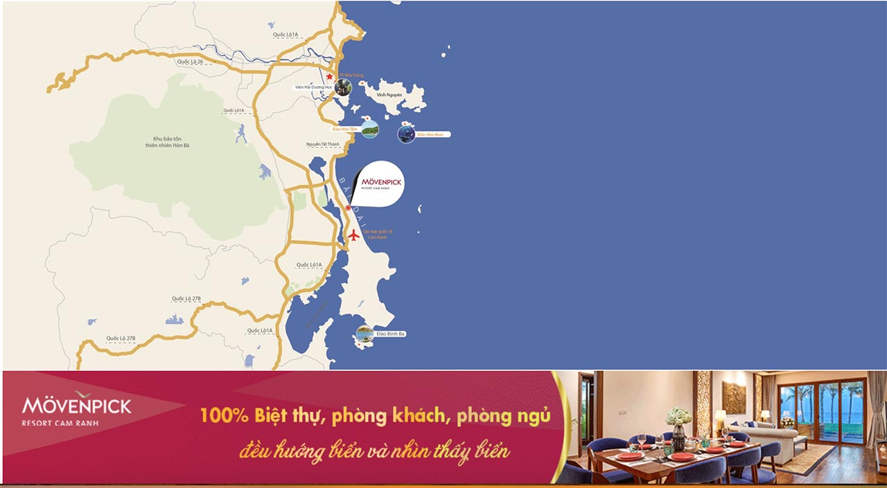 Biệt thự Movenpick Resort Cam Ranh