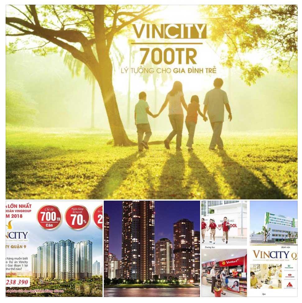 Bảng giá VinCity Grand Park mới nhất