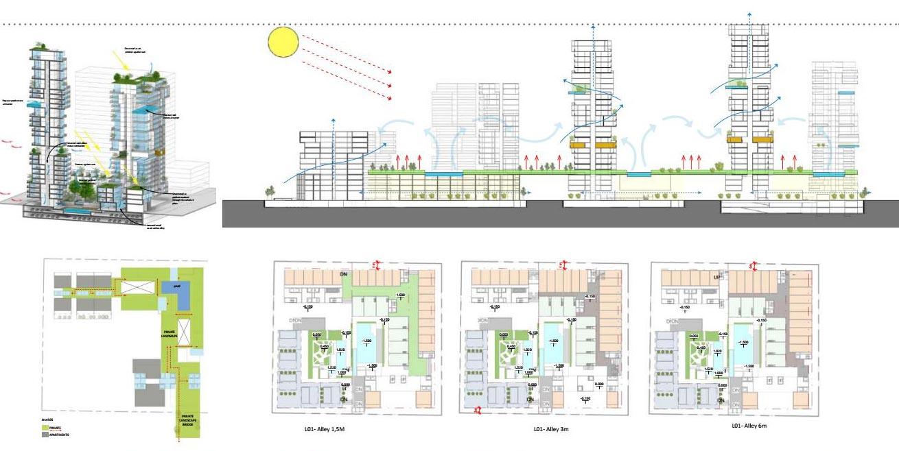 Mặt bằng căn hộ Xi Thủ Thiêm Quận 2