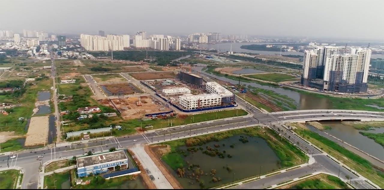 Nhà phố Thủ Thiêm Lake View cho thuê tháng 5-2018