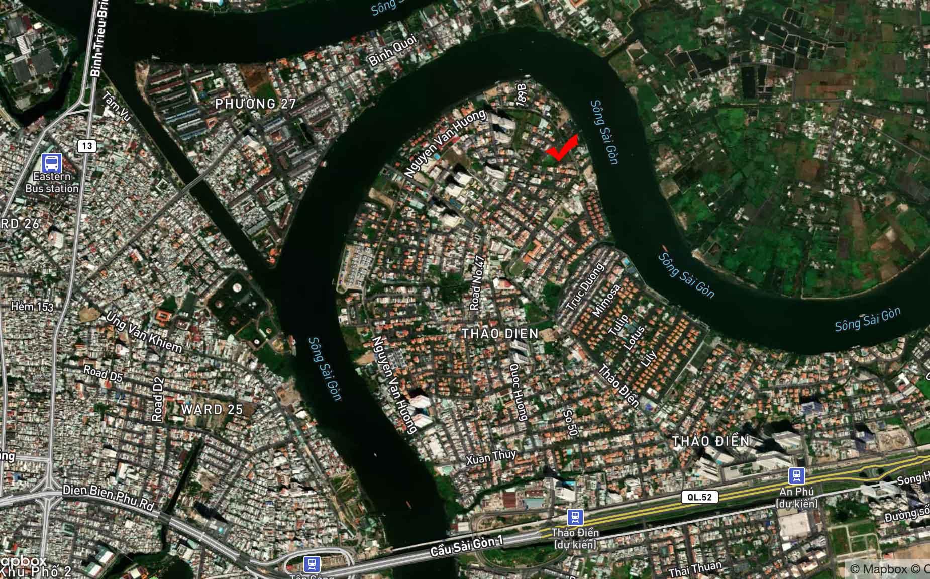 Địa chỉ của dự án King Crown Village