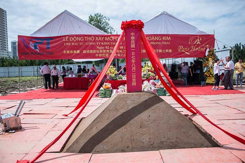 Hình ảnh Lễ động thổ dự án Paris Hoàng Kim