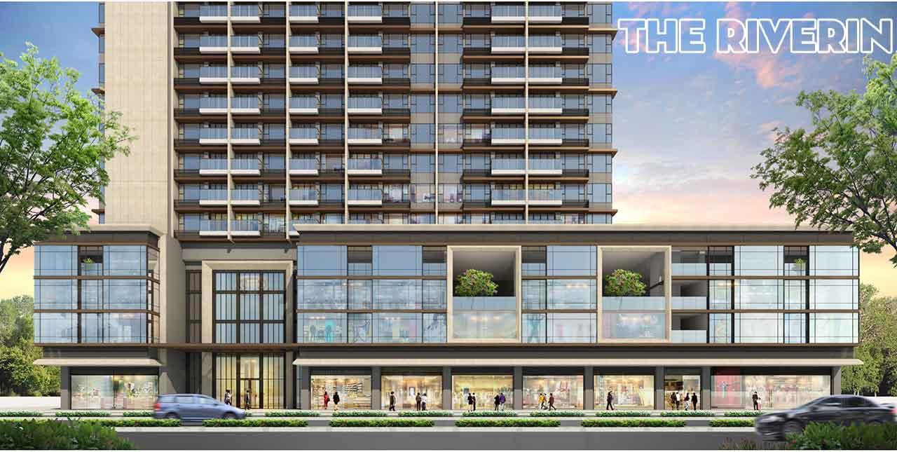 Phối cảnh dự án The Riverin của công ty DP Architects