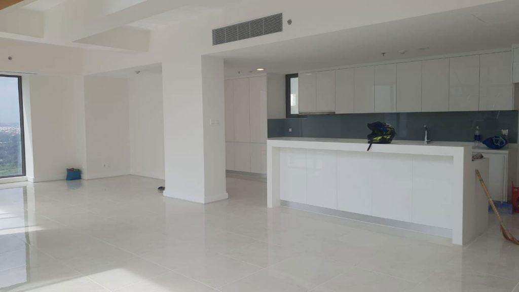 Hình ảnh thực tế khu Bếp của căn hộ Duplex Gateway Thảo Điền