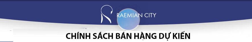 Chính sách bán hàng của Laimian City