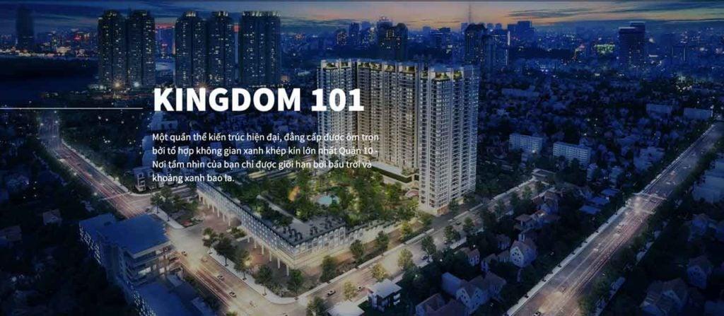 Căn hộ Kingdom 101