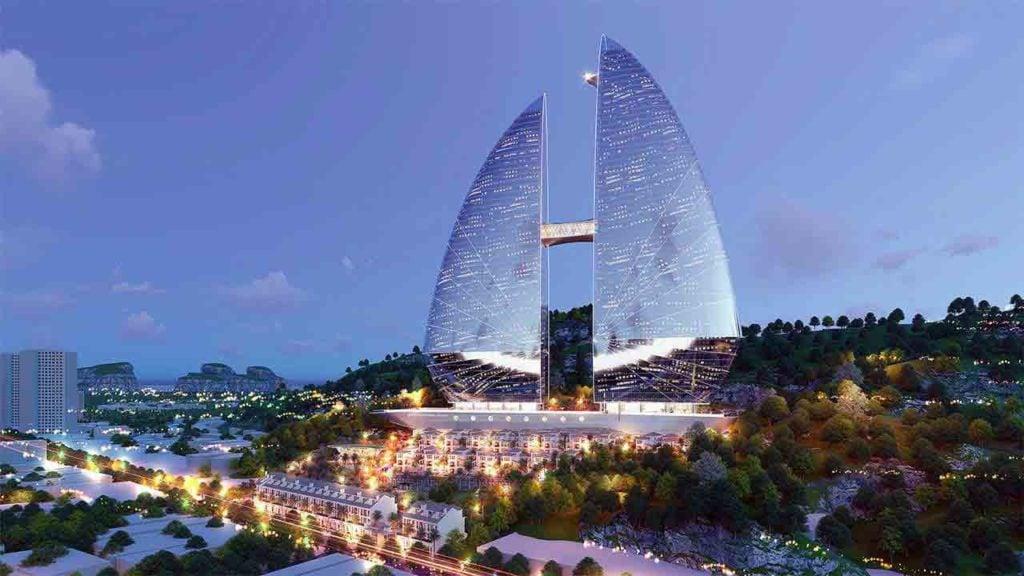 Điểm nhấn thiết kế kiến trúc của Sunshine Marina Hạ Long Bay