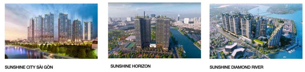 3 dự án Sunshine Group tại Sài Gòn