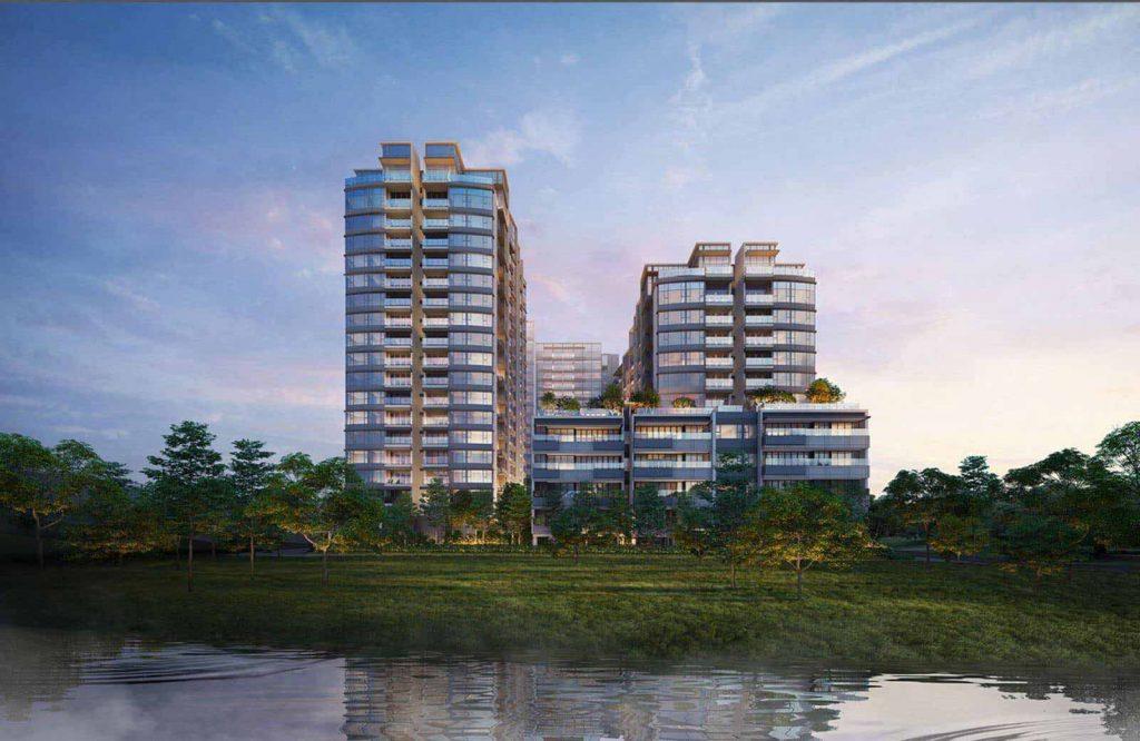 Hình phối cảnh dự án căn hộ The River Thủ Thiêm của Refico