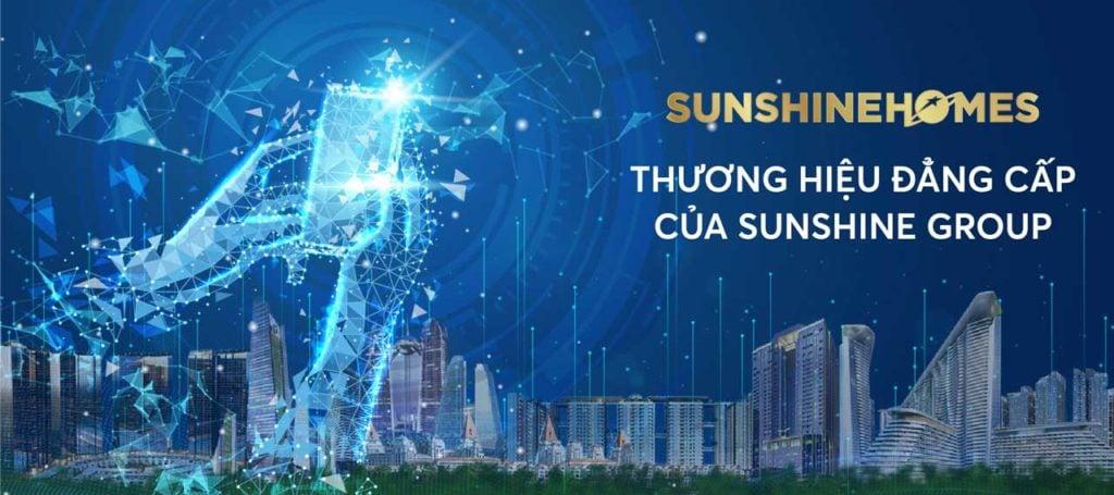 Sunshine Homes - nhà phát triển dự án bất động sản của tập đoàn Sunshine Group
