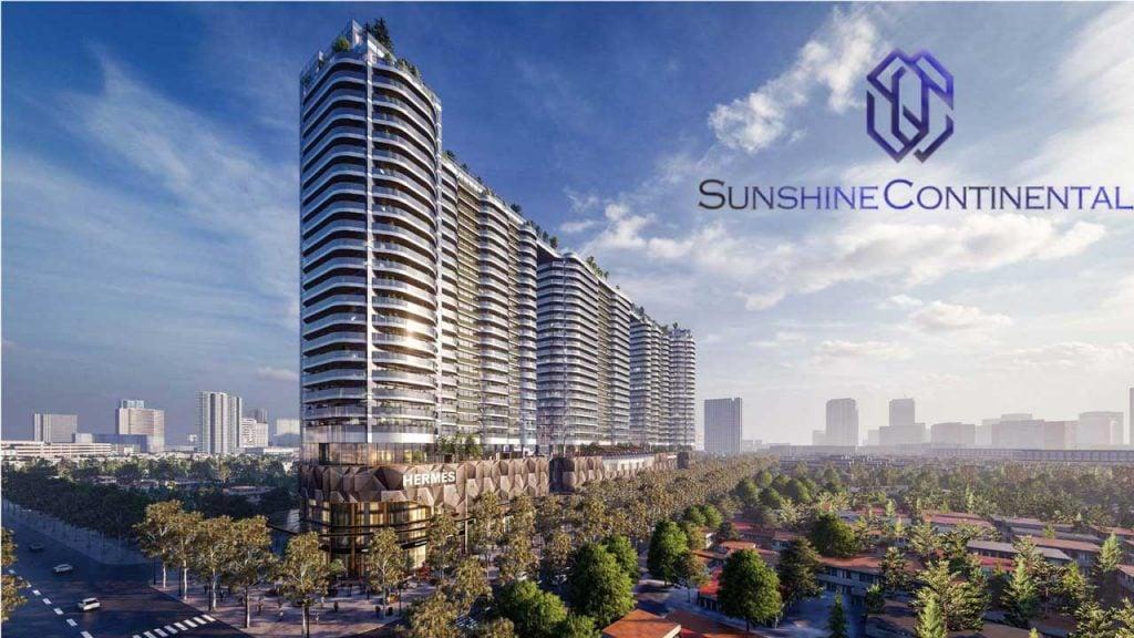 Hình phối cảnh dự án Sunshine Continental Quận 10