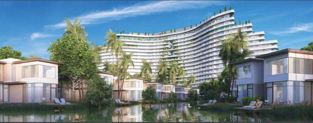 Hình phối cảnh dự án Lagoona Bình Châu bên sông