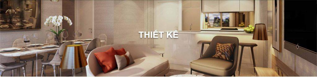 Hình ảnh mình họa căn hộ mẫu do tập đoàn Masterise Group thiết kế