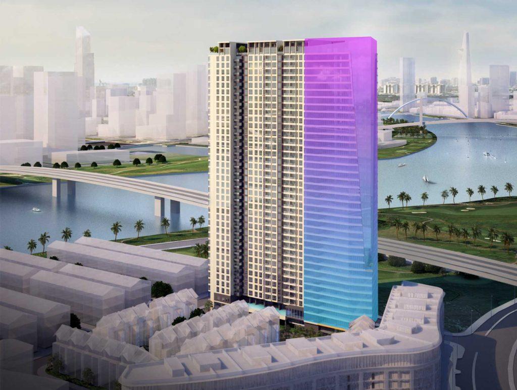 Tòa nhà văn phòng Saigon Pearl cho thuê giá từ 23 usd/m2/tháng