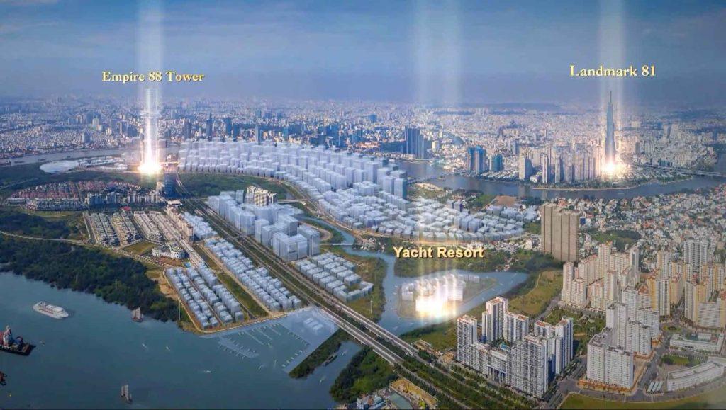 Dự án khách sạn nghỉ dưỡng Yacht Resort Thủ Thiêm