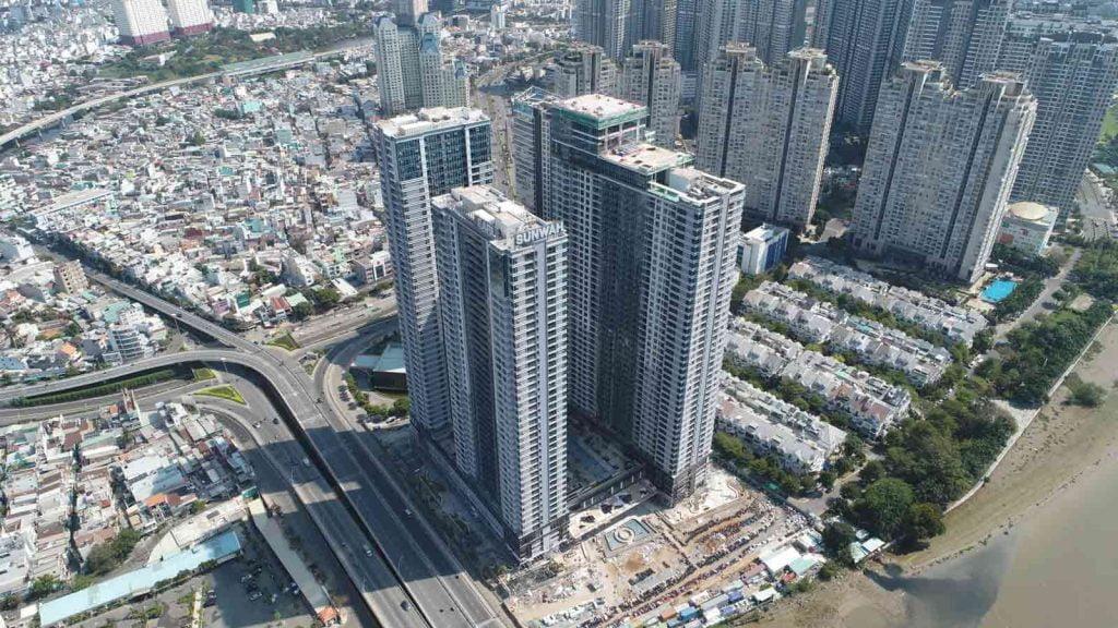 Dự án đang khẩn trương thi công để bàn giao căn hộ vào tháng 9-2020