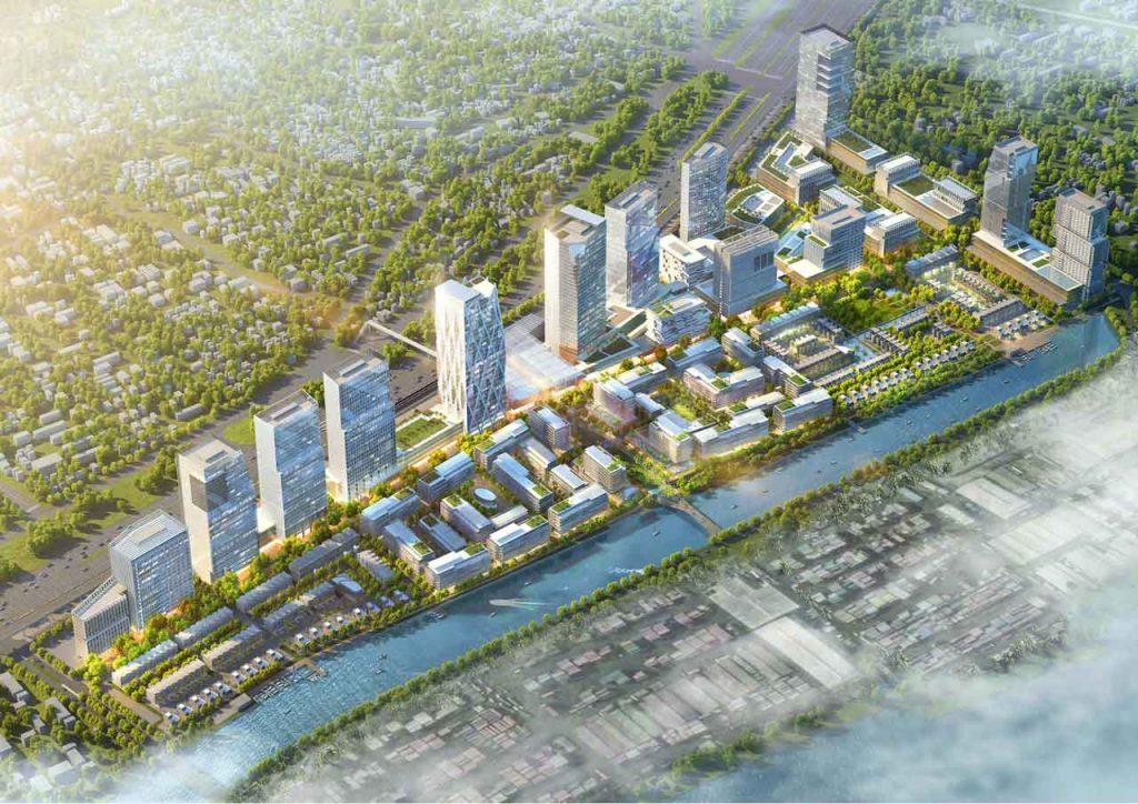 Hình phối cảnh River City của Refico