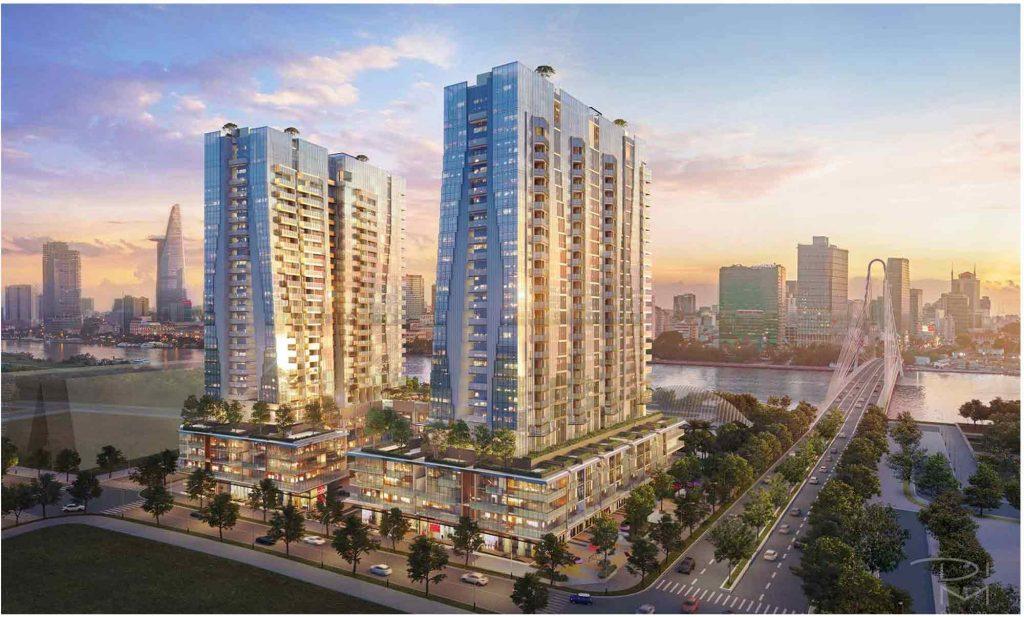Hình ảnh giai đoạn 3 dự án The Metropole Thủ Thiêm có tên gọi là The Opera Residences