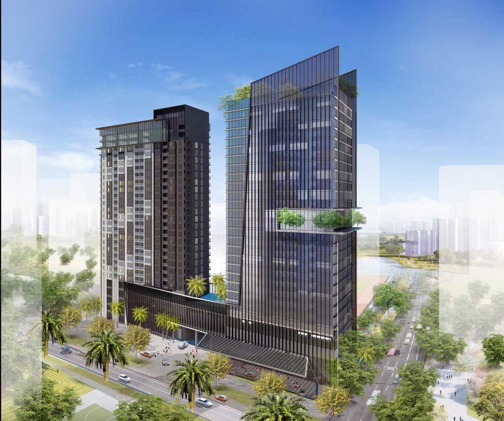 2 tòa tháp căn hộ và văn phòng 152 Điện Biên Phủ, phường 25, Quận Bình Thạnh