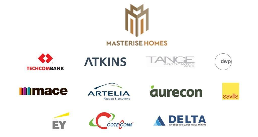 Logo Masterise Homes thành viên của tập đoàn Masterise Group