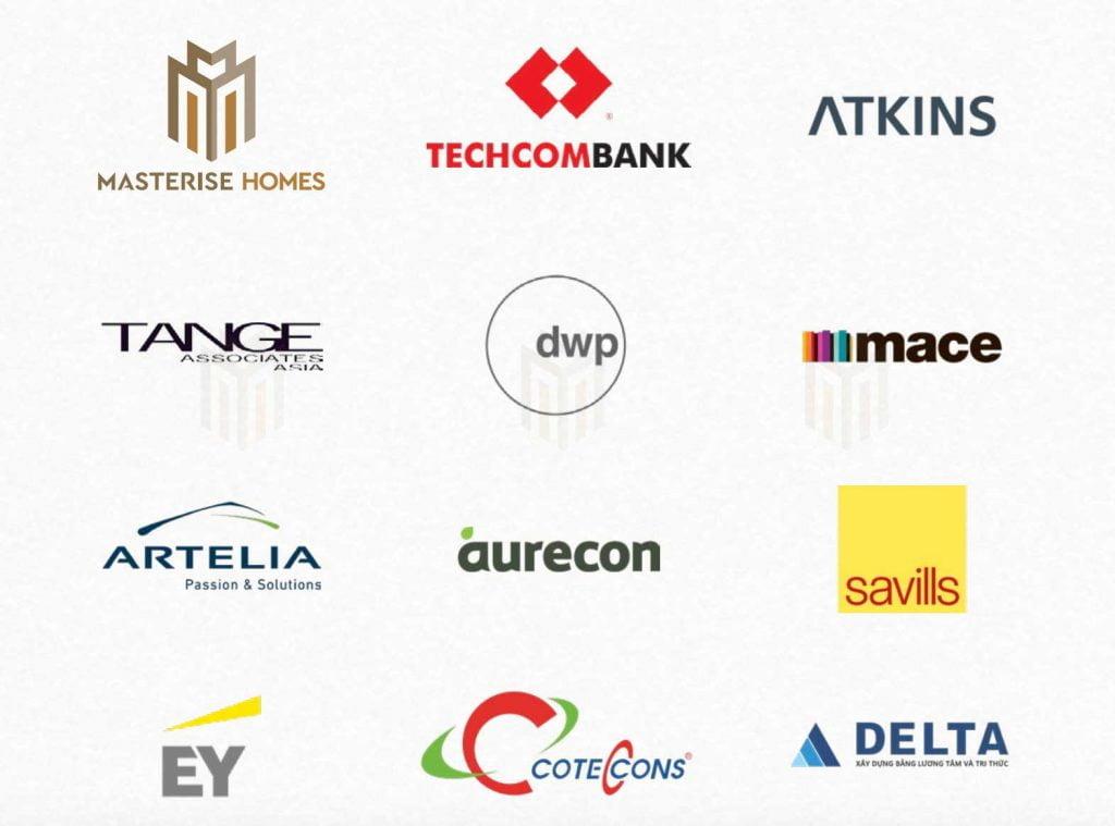 Đội ngũ phát triển luôn đồng hành cùng Masterise Group là các thương hiệu lớn toàn cầu