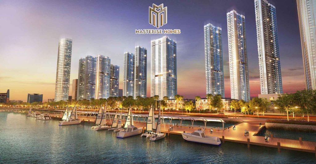 Hình phối cảnh dự án Masterise Marina Central Quận 1