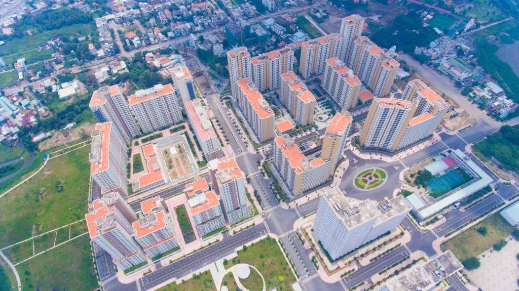 Flycam dự án căn hộ Thủ Thiêm Midtown