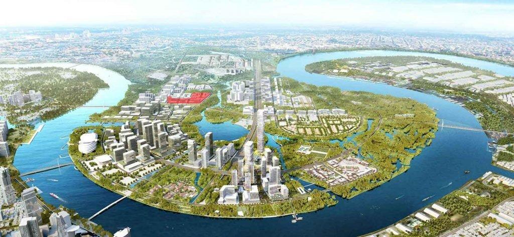 Quy hoạch khu Thủ Thiêm Lake View Quận 2