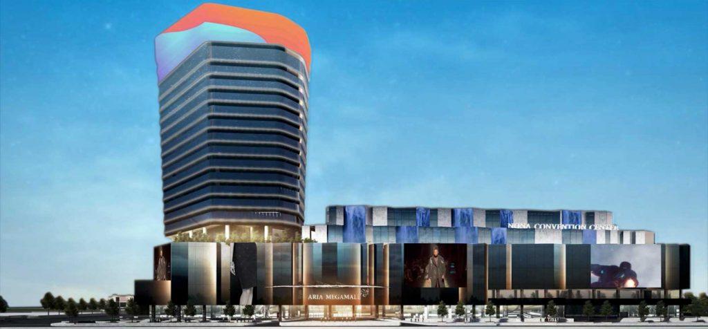 Thiết kế kiến trúc hiện đại với đầy đủ công năng sử dụng của tòa nhà văn phòng