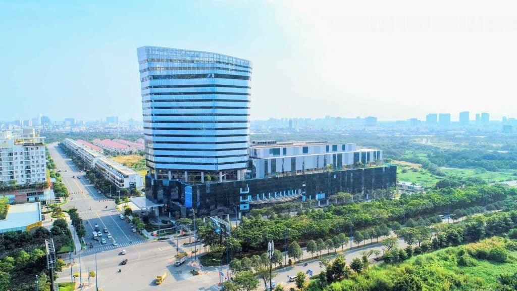 Phối cảnh tòa văn phòng Sofic Tower và Trung tâm thương mại Socar Mall