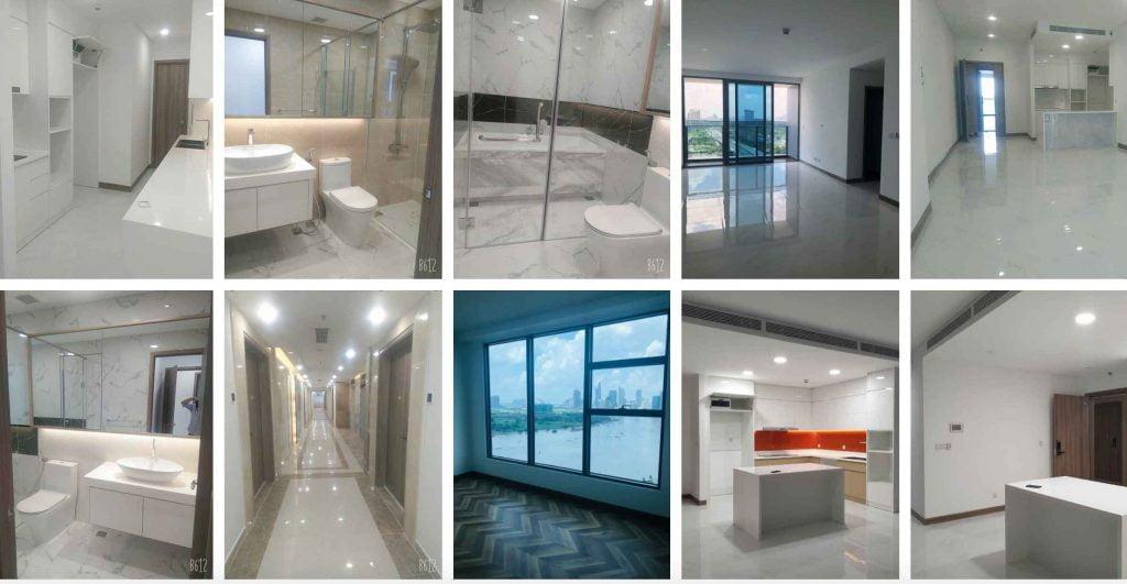 Các trang thiết bị có sẵn trong căn hộ Sunwah Pearl được Sunwah Group bàn giao