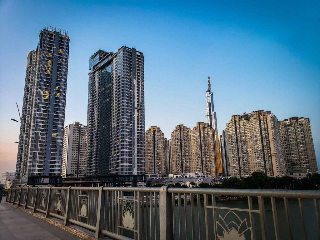 Hình phối cảnh khu căn hộ Sunwah Pearl