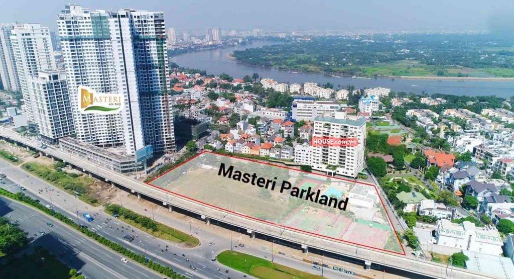 Masterise Lumiere Riverside nằm ngay mặt tiền xa lộ Hà Nội góc Võ Trường Toản