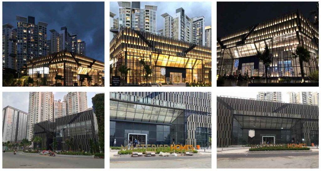Hình ảnh khu nhà mẫu Masteri Centre Point