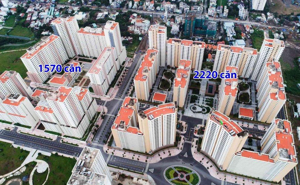 Dự án căn hộ Vietracimex và chung cư Thuận Việt Quận 2
