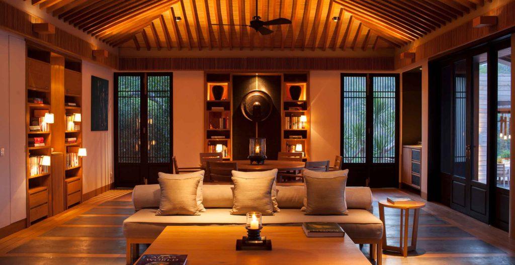 Hình ảnh nội thất bên trong khu biệt thự Amanoi