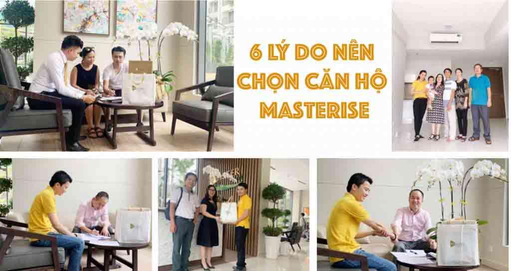 6 lý do nên chọn căn hộ Masterise One Central