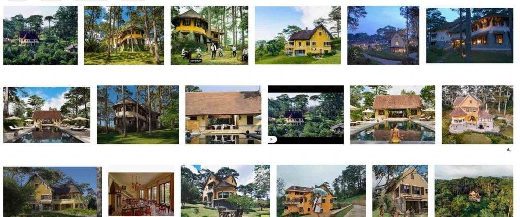 Một vài hình ảnh thực tế bên ngoài khu du lịch nghỉ dưỡng Ana Villas Dalat Resort & Spa