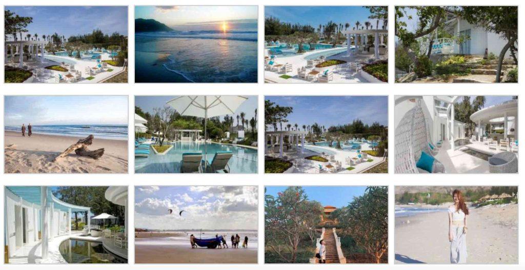 Một vài hình ảnh thực tế về khu Anoasis Beach Vũng Tàu