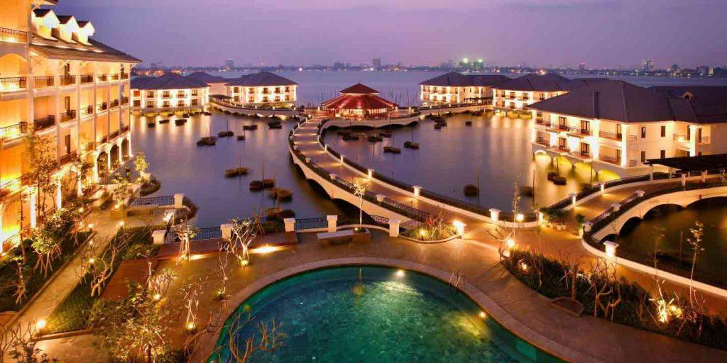 Buổi tối tại khách sạn InterContinental Hanoi Weslake