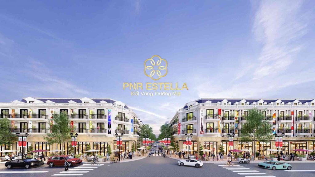 Một góc phối cảnh khu đô thị PNR Estella Đồng Nai