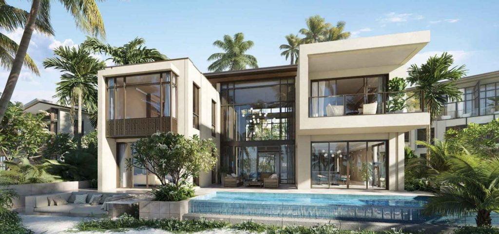 Phối cảnh căn Beach Villa tại dự án InterContinental Residences Halong Bay
