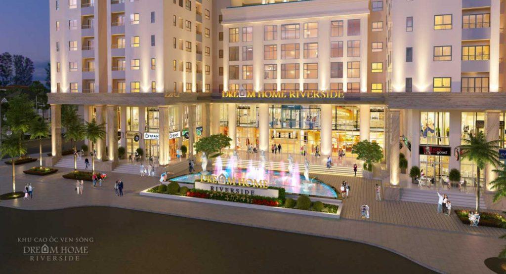 Toàn bộ khối đế và các tầng trệt của các tòa nhà sẽ dành cho dịch vụ tiện ích nhằm phục vụ cư dân sinh sống
